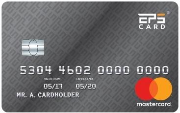 EPS Cards - The best prepaid Mastercard solution - European
